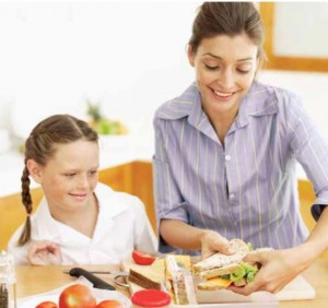 Making a healthy lunch - from Healthy Lunchboxes