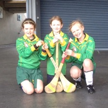 Kilcock Camogie players
