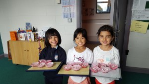 Juniors with Rice Krispies