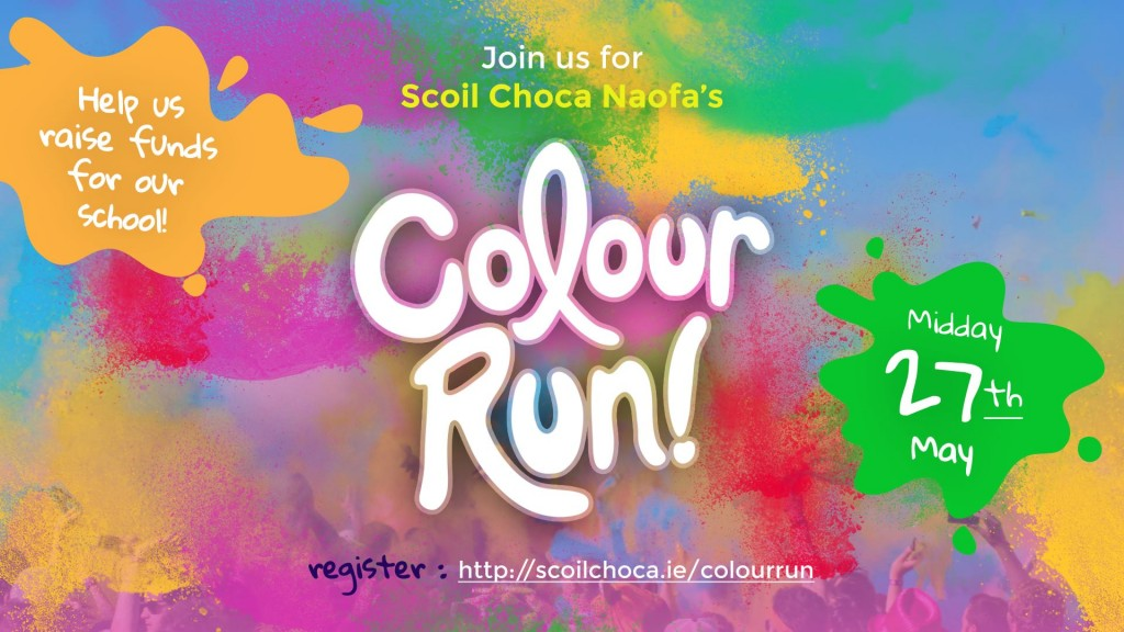scoil choca naofa colour run