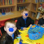 Blue Noses with Junior Infants
