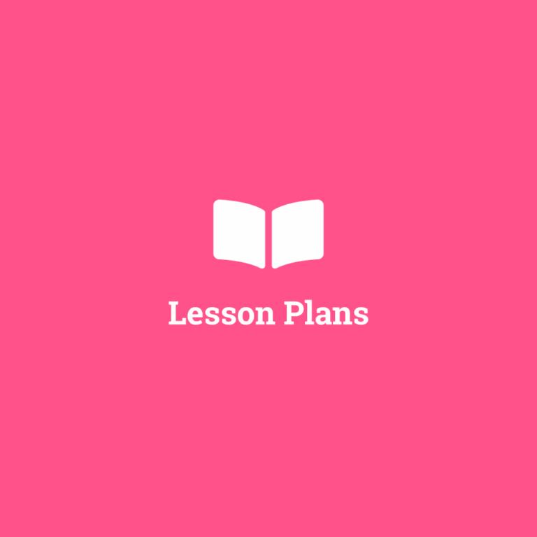 2nd Class Lesson Plans